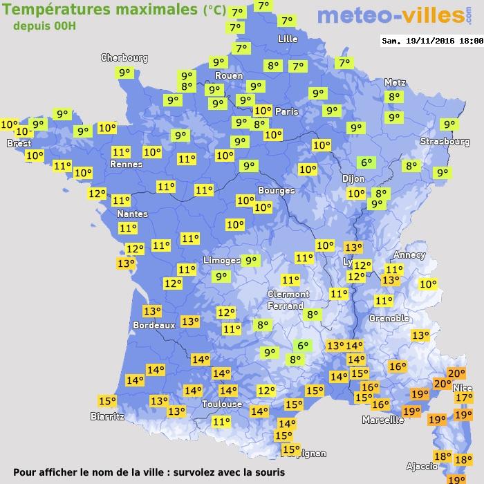 Enorm ment d 39 agitation avec pluie et vent 19 novembre 2016 - Meteo rennes samedi ...
